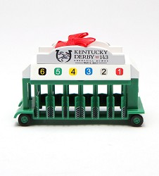 Kentucky Derby 143 Starting Gate Ornament
