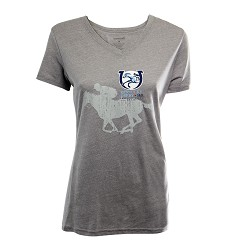 Kentucky Derby 143 V-Neck Oxford Triblend Tee