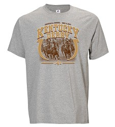 Kentucky Derby 143 Horseshoe Tee