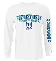 Kentucky Derby 143 Full Front Argyle Sleeve Tee
