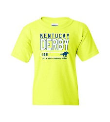 Kentucky Derby 143 Youth On Track Tee,7KYTTG GREEN