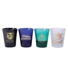 2017 Triple Crown 4 Piece Collectors' Shot Glass Set,ZT7SGS