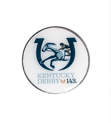 Kentucky Derby 143 Ball Marker