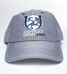 Kentucky Derby 143 Oxford Cap,M47OXF 143M1 NAVY