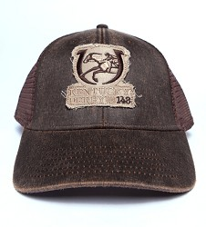 Kentucky Derby 143 Frayed Patch Cap,C14WCM 143RI BROWN