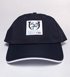 Kentucky Derby 143 Youth Textured Cap,Y49TN8 143AE1 NVY/WH