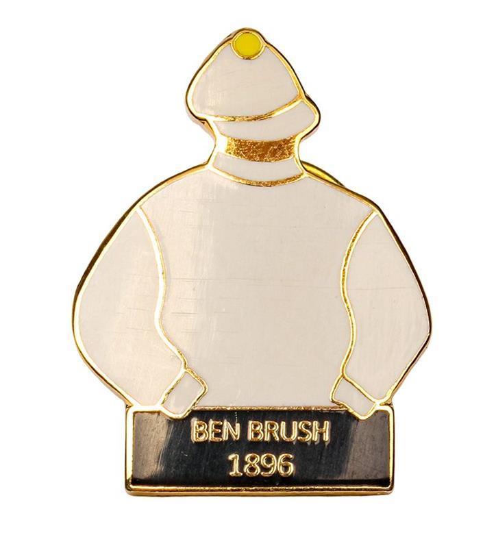 1896 Ben Brush Tac Pin,1896
