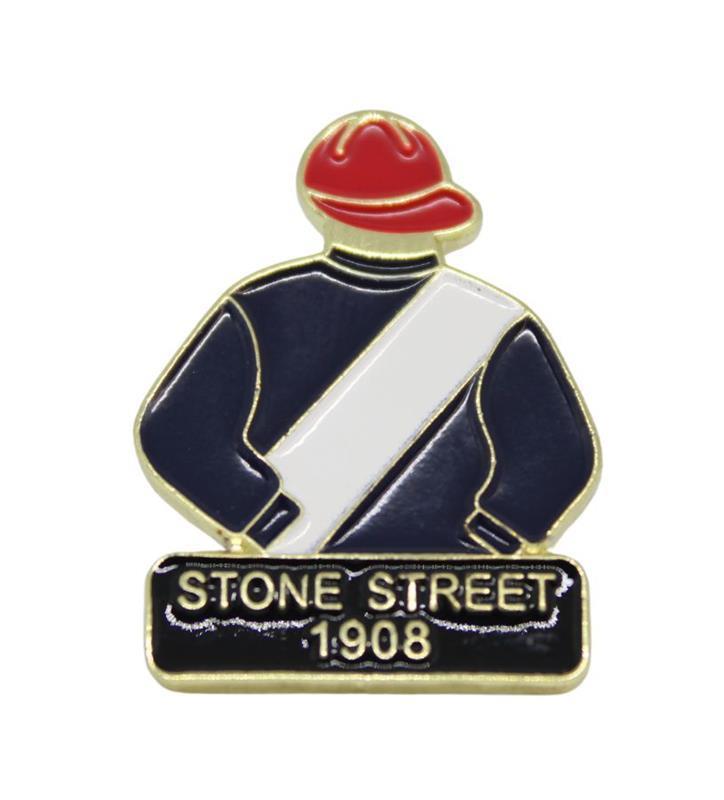 1908 Stone Street Tac Pin,1908
