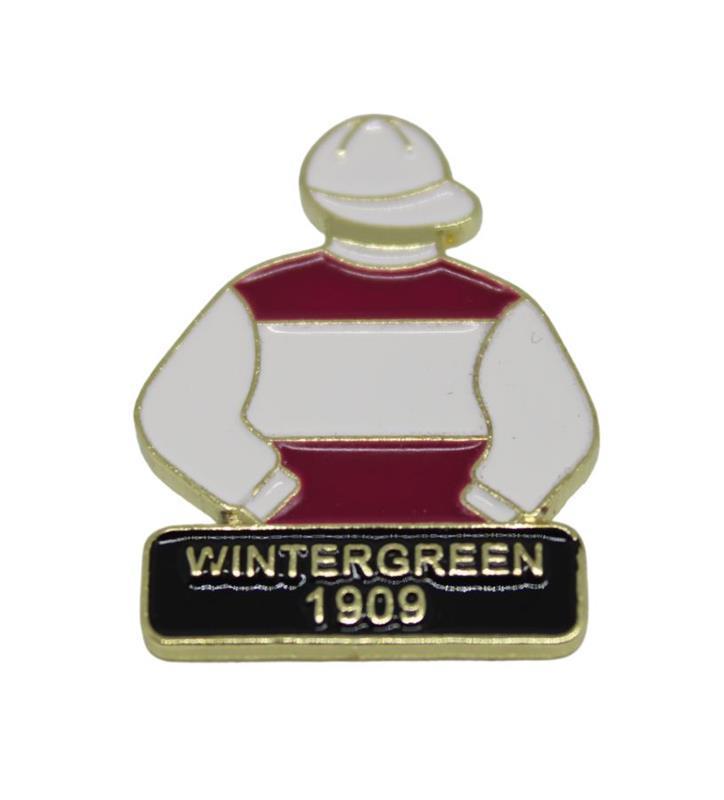1909 Wintergreen Tac Pin,1909