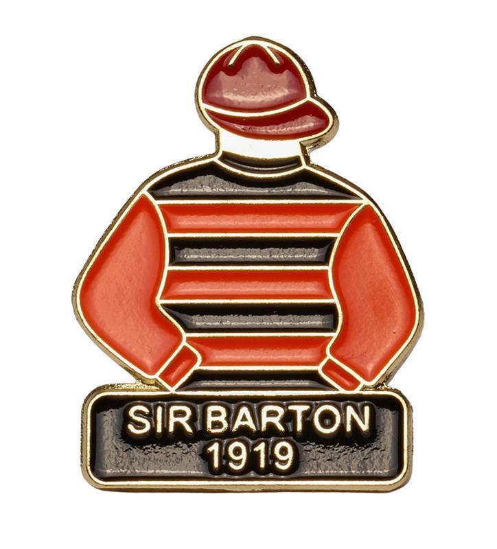 1919 Sir Barton Tac Pin,1919