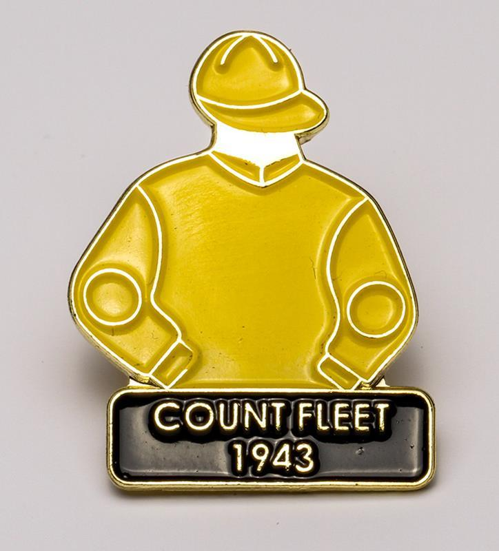1943 Count Fleet Tac Pin,1943