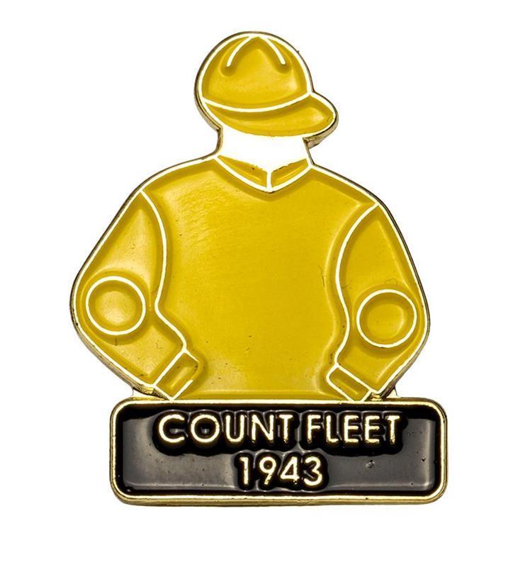 1943 Count Fleet Tac Pin,1943