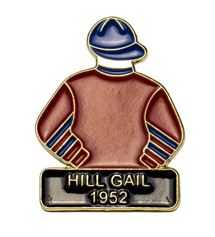1952 Hill Gail Tac Pin,1952