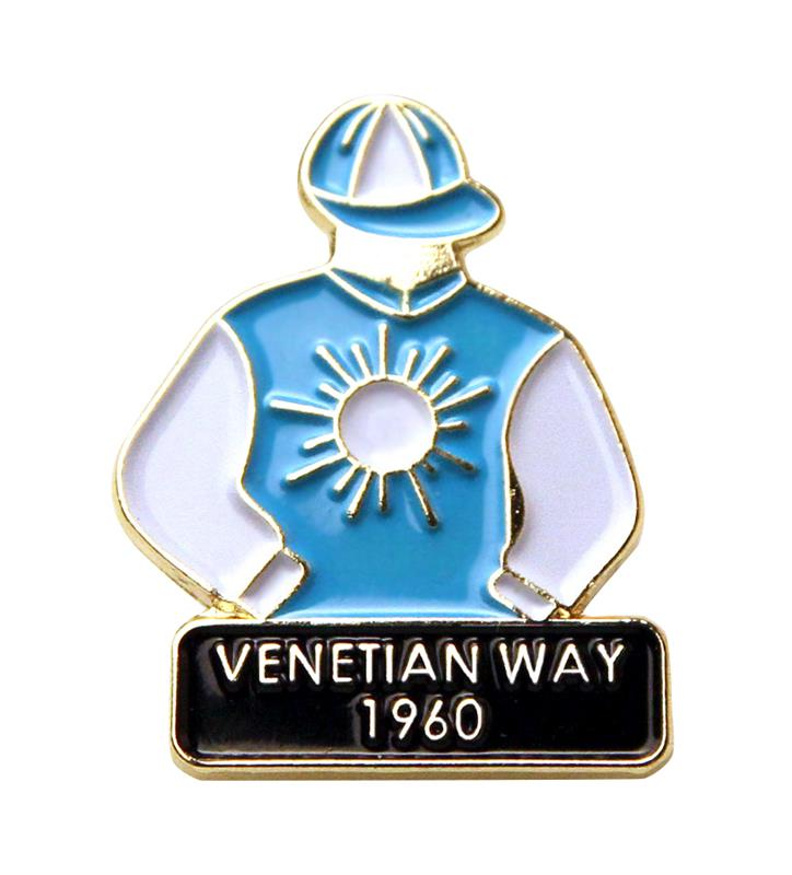 1960 Venetian Way Tac Pin,1960
