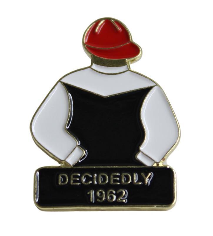 1962 Decidedly Tac Pin,1962