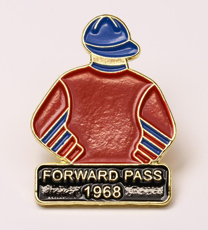 1968 Forward Pass Tac Pin,1968
