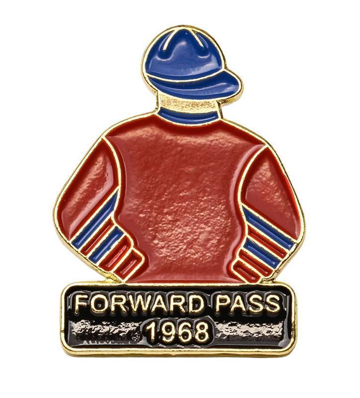 1968 Forward Pass Tac Pin,1968