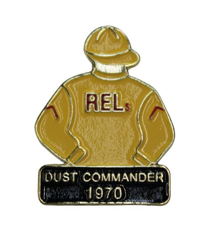 1970 Dust Commander Tac Pin,1970