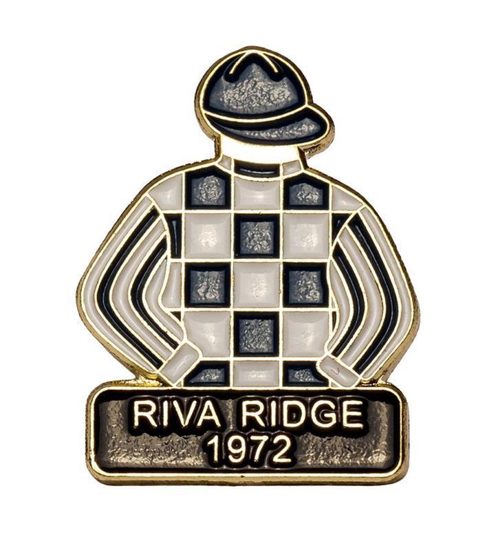 1972 Riva Ridge Tac Pin,1972