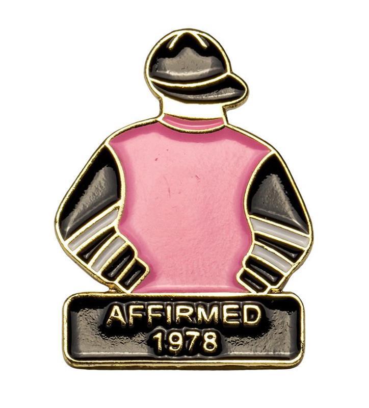 1978 Affirmed Tac Pin,1978