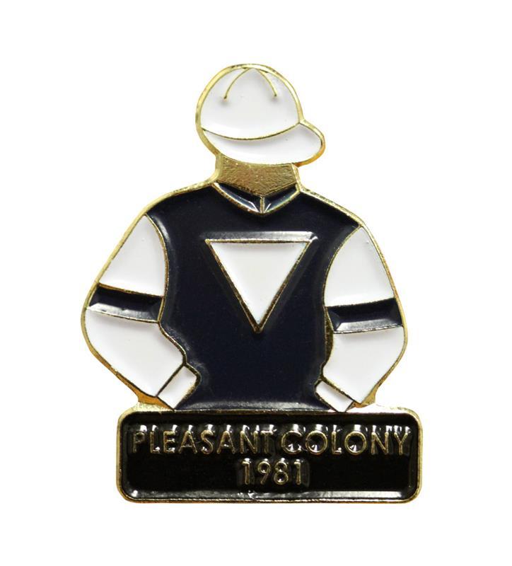 1981 Pleasant Colony Tac Pin,1981