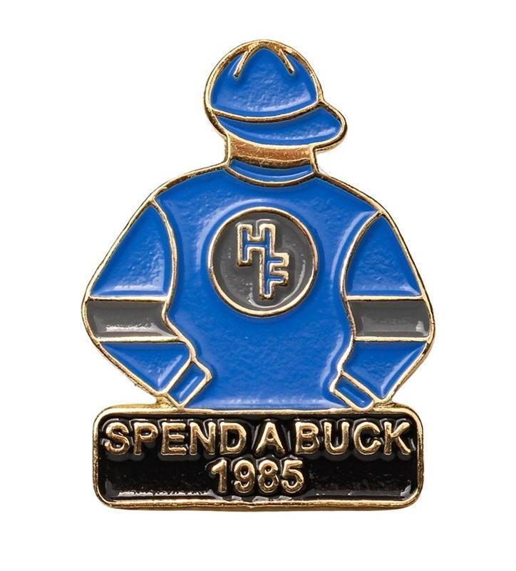 1985 Spend A Buck Tac Pin,1985