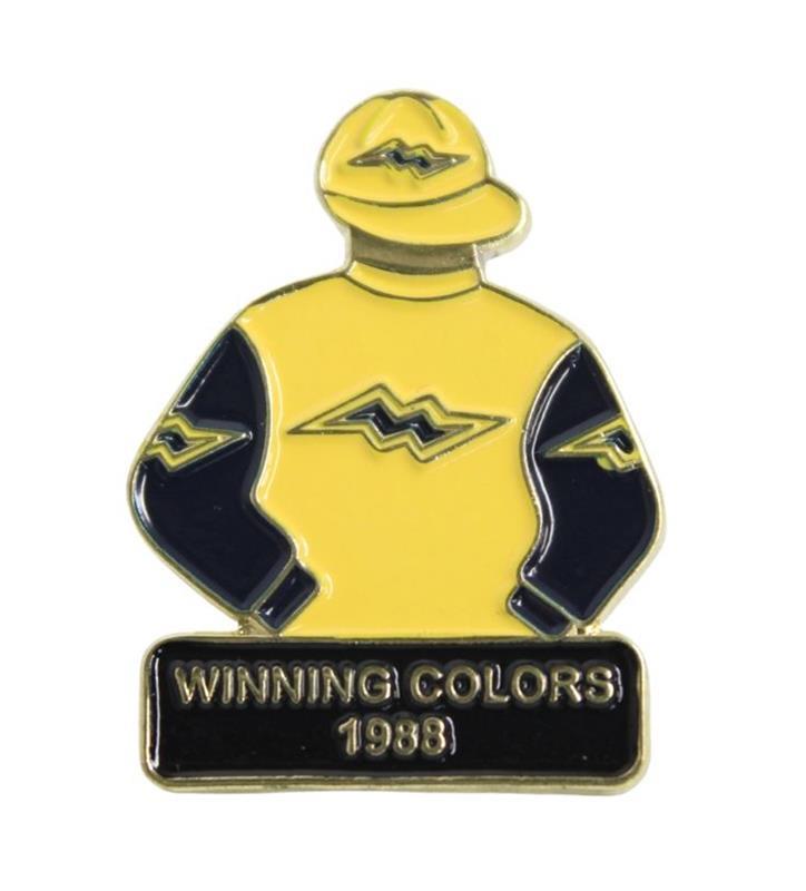 1988 Winning Colors Tac Pin,1988