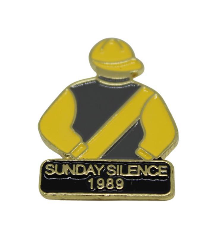 1989 Sunday Silence Tac Pin,1989