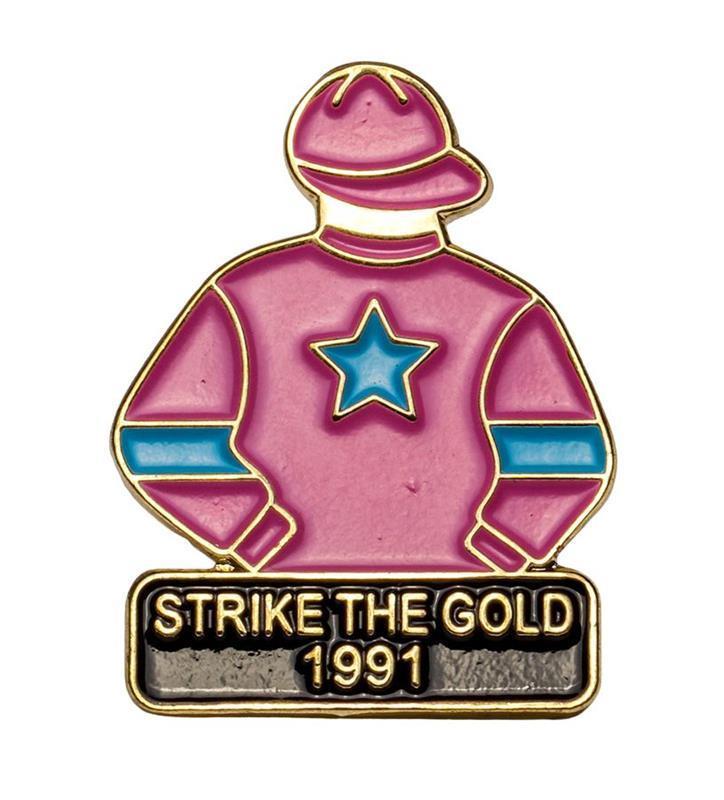 1991 Strike The Gold Tac Pin,1991