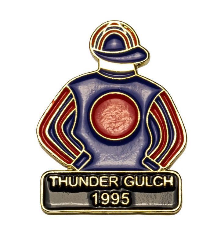 1995 Thunder Gulch Tac Pin,1995