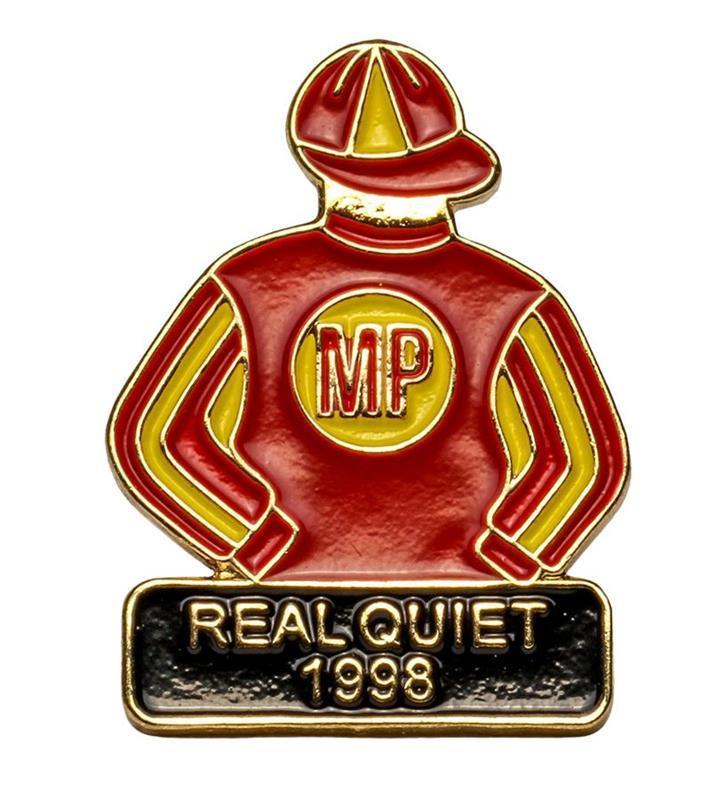1998 Real Quiet Tac Pin,1998
