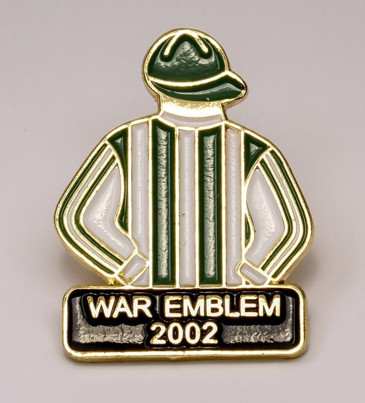 2002 War Emblem Tac Pin,2002