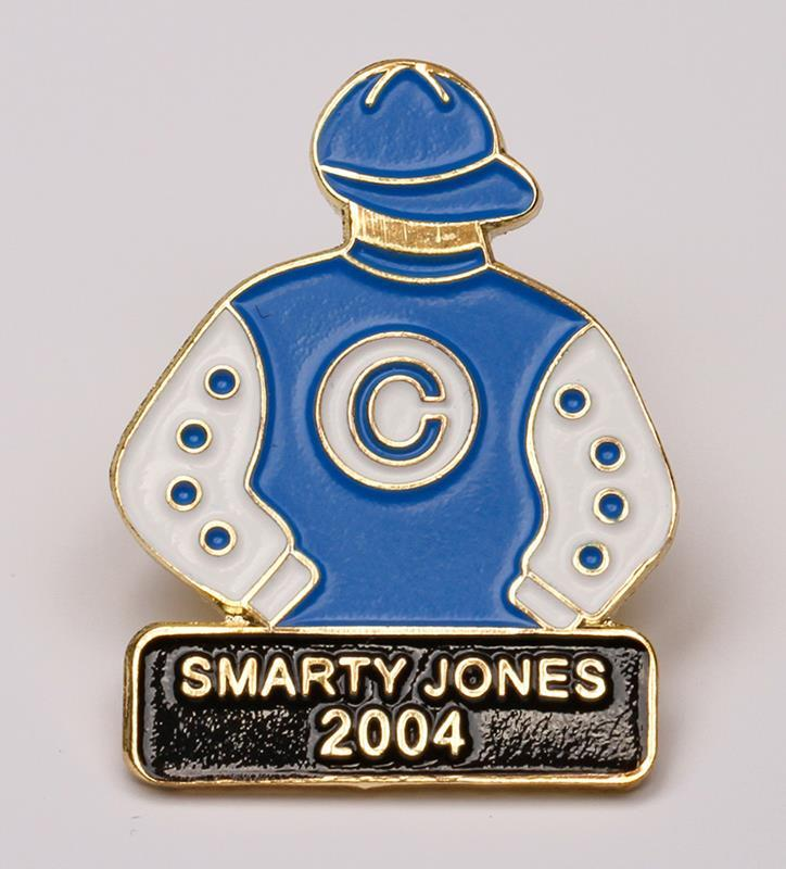 2004 Smarty Jones Tac Pin,2004