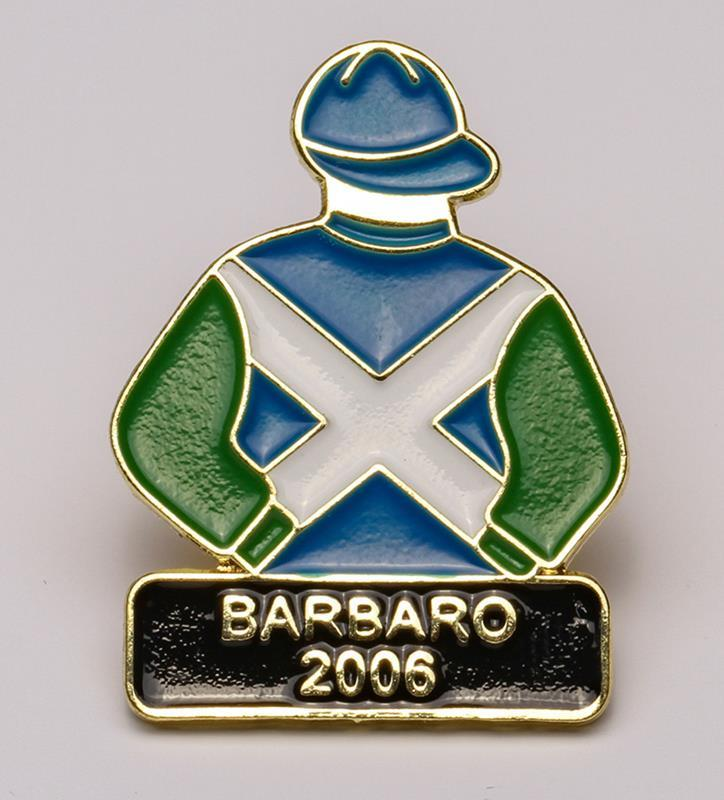2006 Barbaro Tac Pin,2006