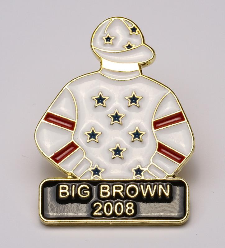 2008 Big Brown Tac Pin,2008