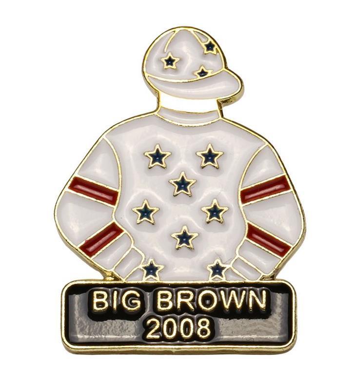 2008 Big Brown Tac Pin,2008