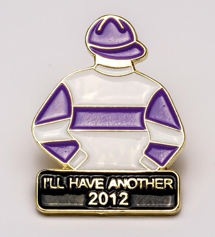 2012 I'll Have Another Tac Pin,2012