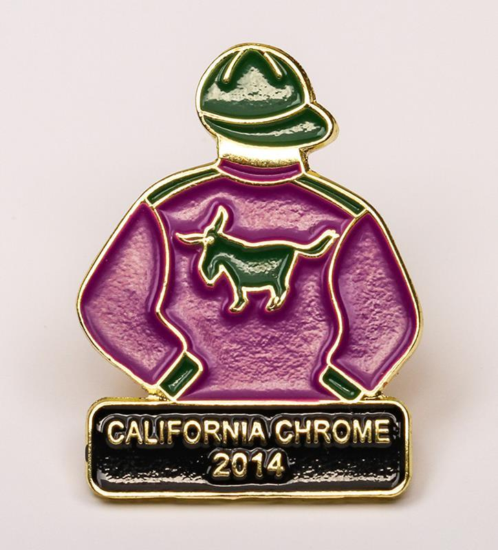 2014 California Chrome Tac Pin,2014