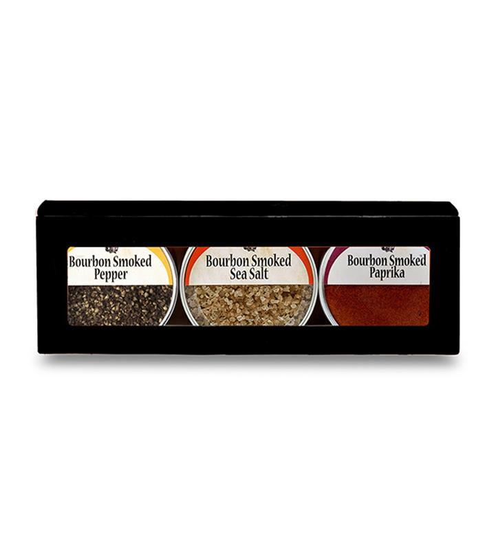 Bourbon Smoked Spice Gift Set by Bourbon Barrel Foods,BBSPS