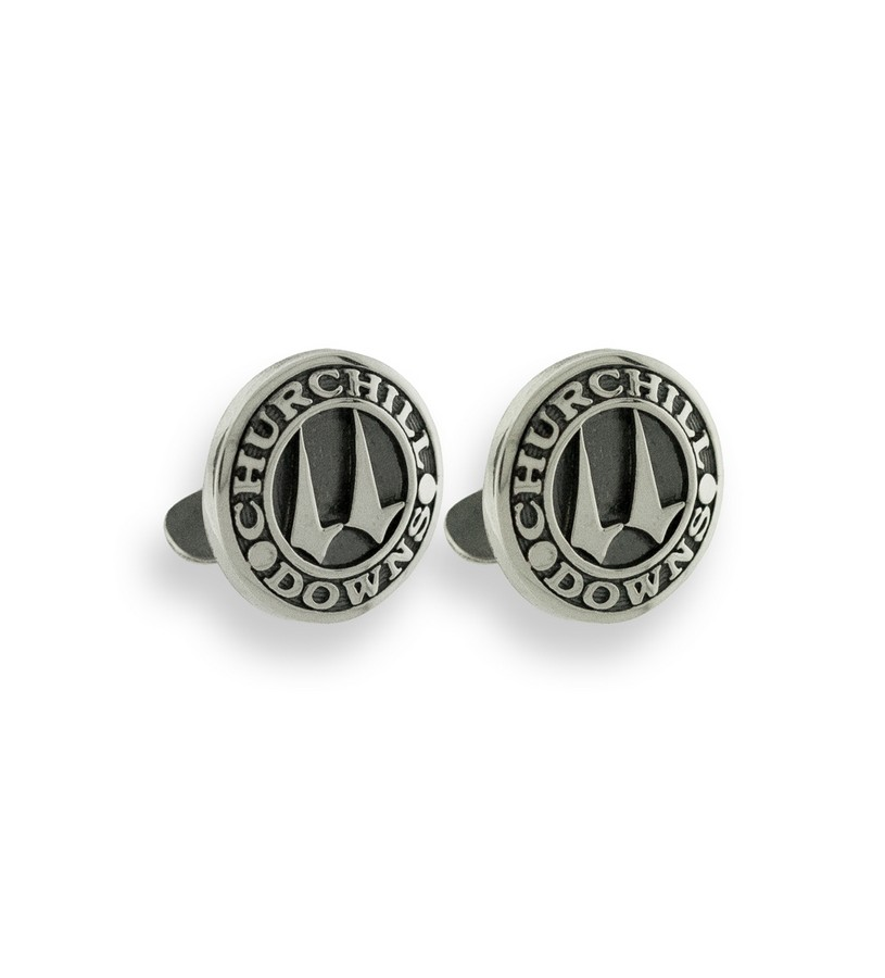 271-08 Churchill Downs Twin Spires CuffLinks,Darren K. Moore,271-08 CUFFLINK