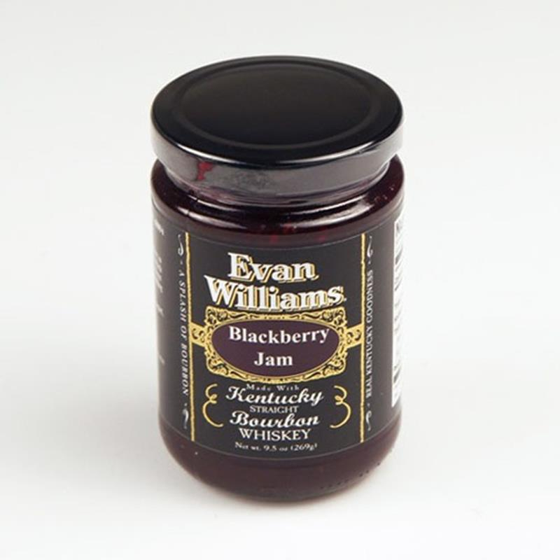 Evan Williams 9.5 oz Bourbon Blackberry Jam