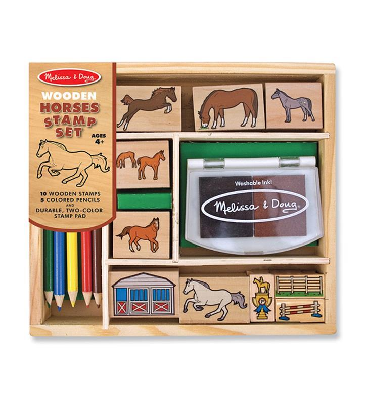 Horse Stamp Set by Melissa and Doug,2410