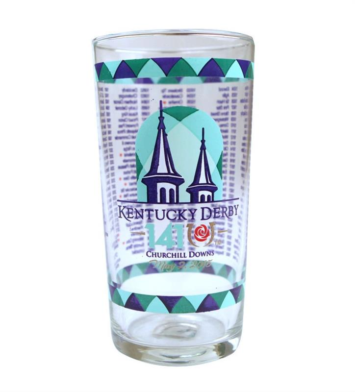2015 Official Derby Glass