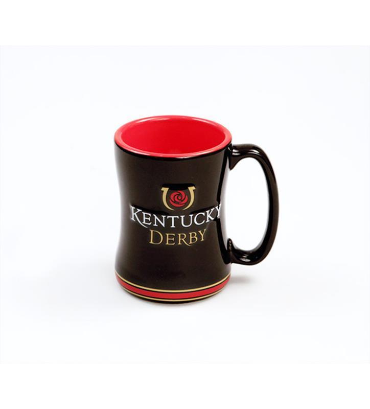 Kentucky Derby Icon Sculpted Mug,#314135 14 OZ