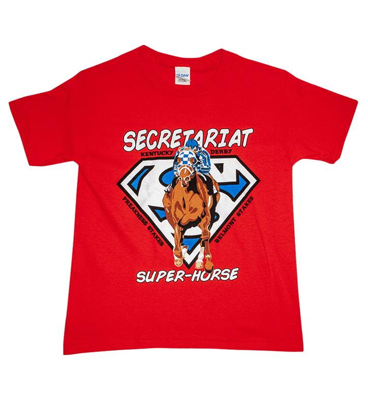 Kid's Secretariat Superhorse Tee