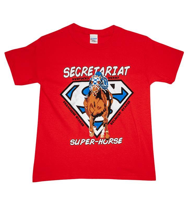 Kid's Secretariat Superhorse Tee
