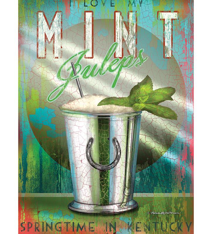 Mint Julep Print