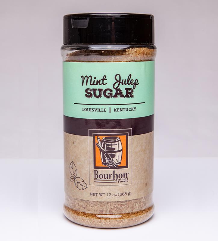 Mint Julep Sugar by Bourbon Barrel Foods,MJSTC--10OZ