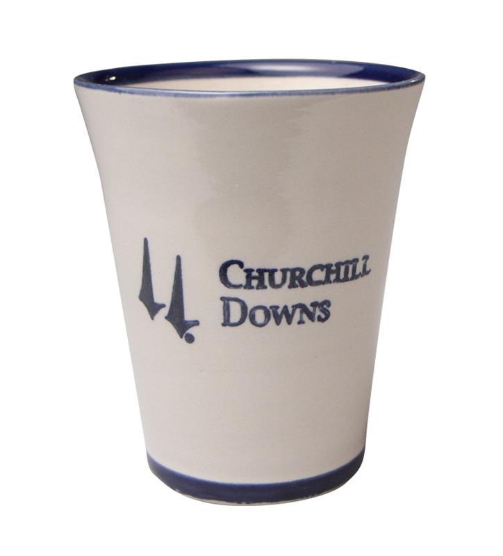 Churchill Downs Stoneware Julep Cup,Louisville Stoneware,CUSTD010