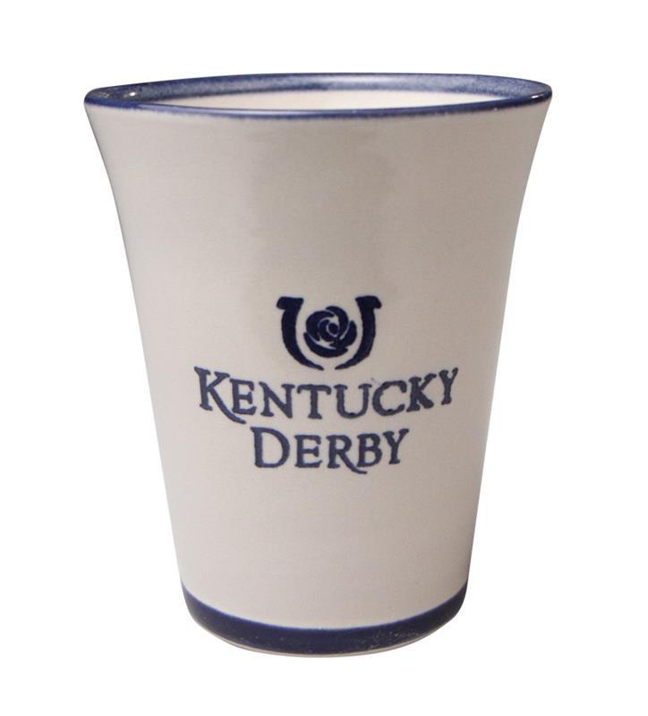 Kentucky Derby Icon Stoneware Julep Cup,Louisville Stoneware,CUSTD010